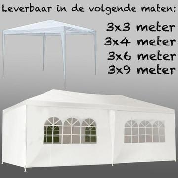 Partytent 3 x 3, 3 x 4, 3 x 6, 3 x 9, Party tent,Partytenten