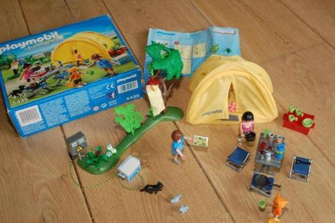 Playmobil 5435 Camping Tent Kamperen Summer Fun