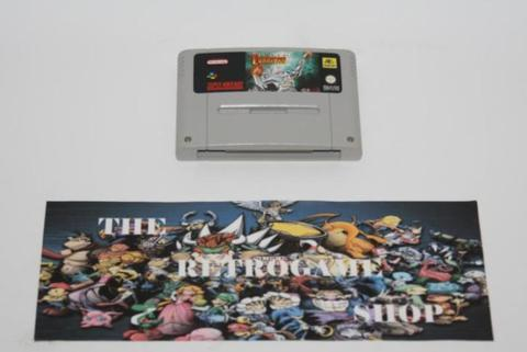 Super Turrican (Super Nintendo Cartridges, Super Nintendo)