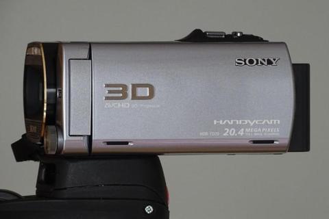 3D Camcorder SONY HDR-TD20VE FULL HD, 64GB, GPS,3D LCD, ZGAN