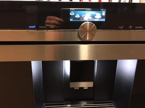 Siemens CT636LES1 inbouw koffie apparaat nieuw