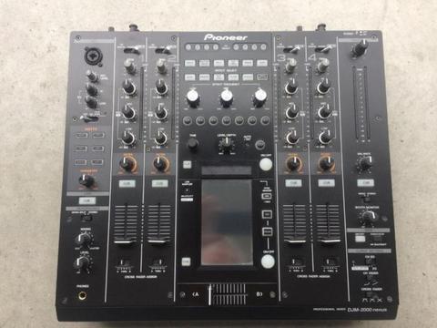 Pioneer djm 2000 djm2000 djm-2000 NEXUS dj mixer