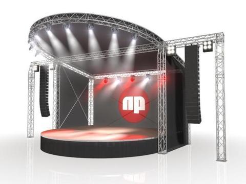 Naxpro Truss Beursstands, Stages, Toneel en Trussen te koop