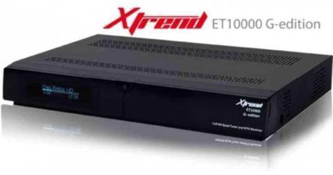 Xtrend ET10000 quatro hybride hd reciever (dvb-c en dvb-s2)