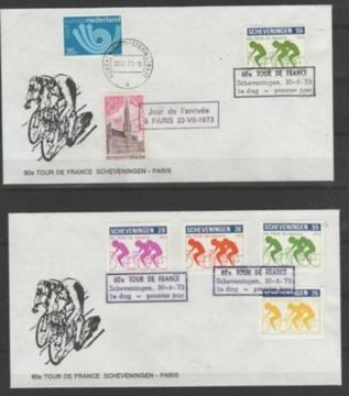 Gezocht: Stadspost Scheveningen - Tour de France 1973