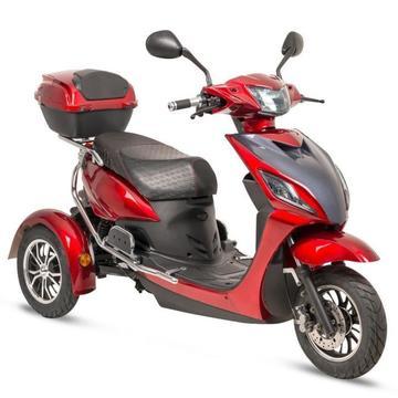elektrisch driewielscooter 80km actiradius! elektrische