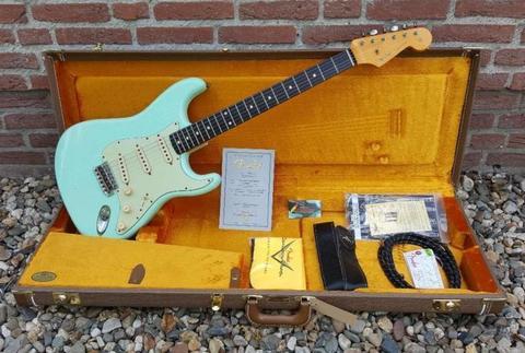 USA Fender Custom Shop 1961 Stratocaster Soft Relic