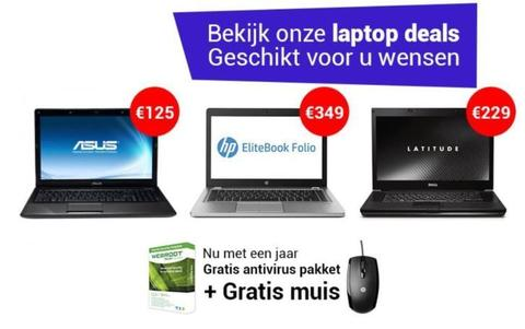 OPRUIMING! Laptop ACER ASUS DELL HP SAMSUNG i5 | i7 | SSD !