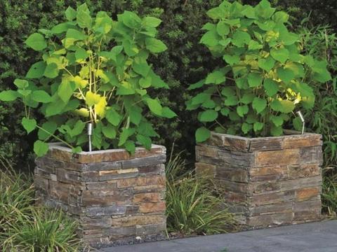 Plantenbak - Natuursteen - Hardsteen - Stenen Bloembak