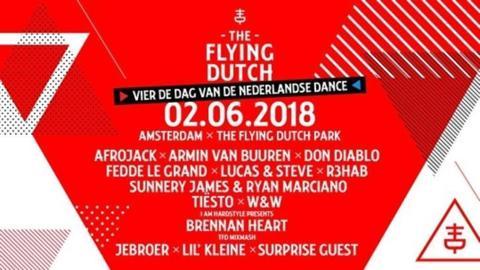 2 × The Flying Dutch 2018 Amsterdam