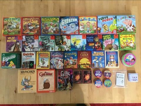 37 Kaartspellen (klein) 999 Games, Drie Magiers Spellen, enz