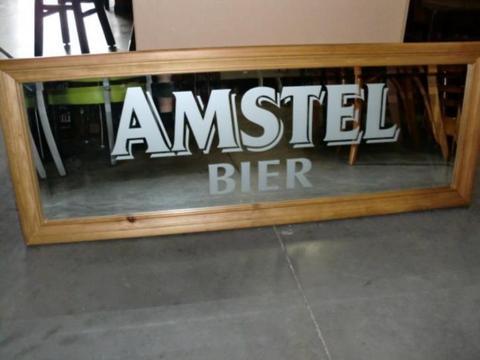 Bar spiegels Amstel-Jack Daniels-Heineken-Grolsch-Hertog-Jan