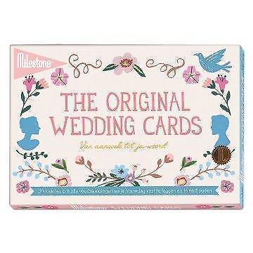 Milestone™ wedding foto kaarten - van aanzoek tot ja-woord
