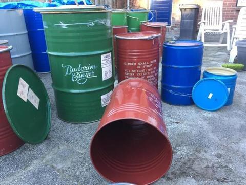 vintage retro brocante plantenbak vat vaten 25 90 100 200