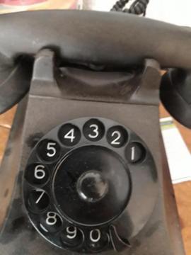 Een draaischijf telefoon 1950/'60 voor echte verzamelaar