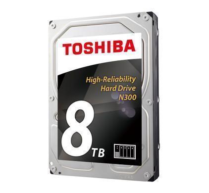 Toshiba N300 HDWN180EZSTA 8 TB (Data Opslag, Computer)