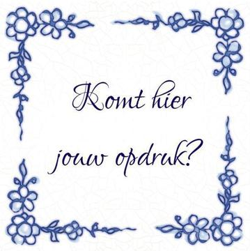 Delfts Blauw tegeltje (nr.21)