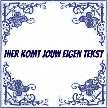 Delfts Blauw tegeltje (nr.23)