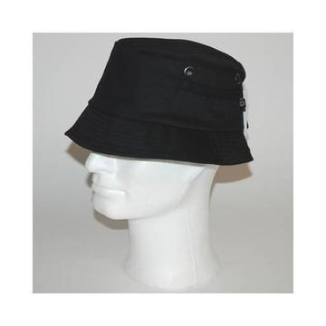 vissershoed / vis leger hoed zwart