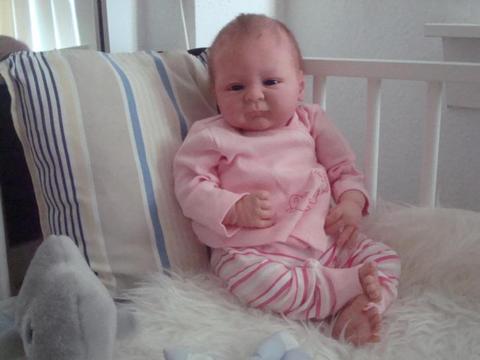 Reborn baby Seraphina van Elisa Marx opieuw te koop