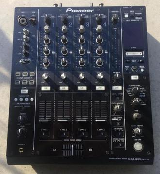 1 Pioneer djm 900 djm900 djm-900 nexus mixer 1075 euro