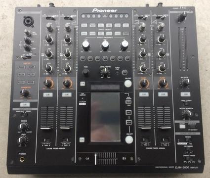 Pioneer djm 2000 djm2000 djm-2000 NEXUS dj mixer vr 1285 eur