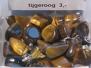 Hanger Tijgeroog (Hangers, Kristal-Edelsteen Producten)