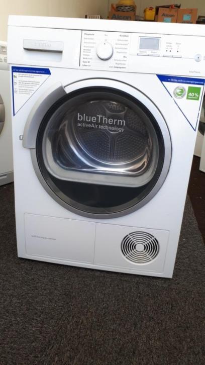 Warmtepomp droger Siemens IQ 7 kg display