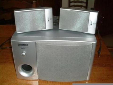 YAMAHA speakerset geschikt voor de TYROS 1-2-3-4 en 5