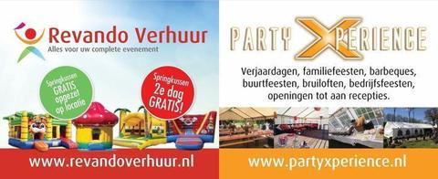 Party- en Springkussenverhuur onder 1 dak!!!