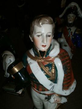 Collectie porseleinen soldaten Napoleon