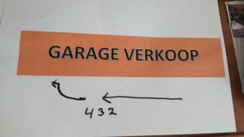 Garage Verkoop