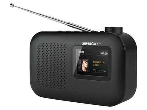 DAB+- en wekkerradio met LCD-kleurenscherm