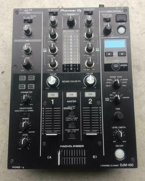 1 Pioneer DJM 450 DJM-450 DJM450 mengpaneel vr 449 euro