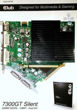 Club 3D Geforce 7300GT SILENT XT 128-bit 256MB DDR2 PCI-E