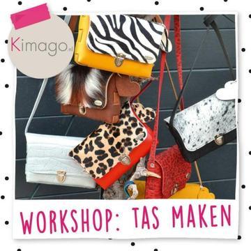 workshop: lederen tas maken