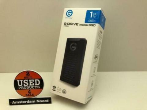 G-Technology G-DRIVE Mobile SSD 1TB (Nieuw) #28065