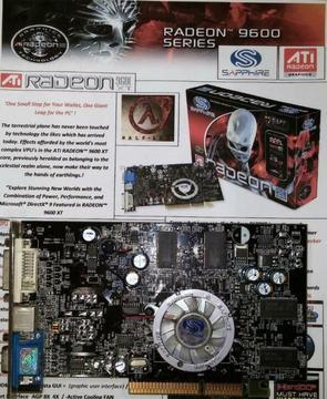 Sapphire ATI RADEON 9600 XT Xtreme 128-bit 128MB DDR AGP 8X