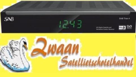 HD Ontvanger SAB Titan 4 12/220 volt+IR oog