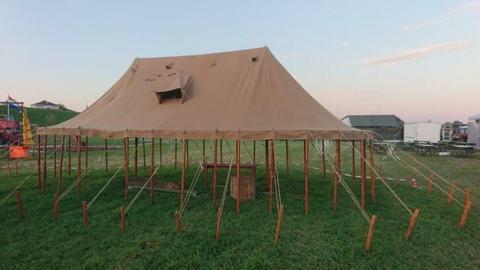 ww2 britse marquee tent