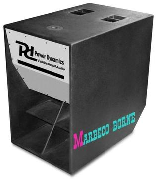 Subwoofer speaker, 18 inch passief, PD Scoop luidspreker