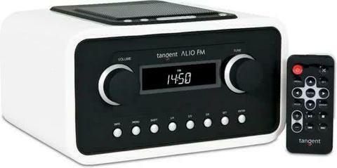 Tangent ALIO FM w/ dock Draagbaar Analoog Wit radio - Alleen