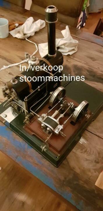 In/verkoop stoommachines