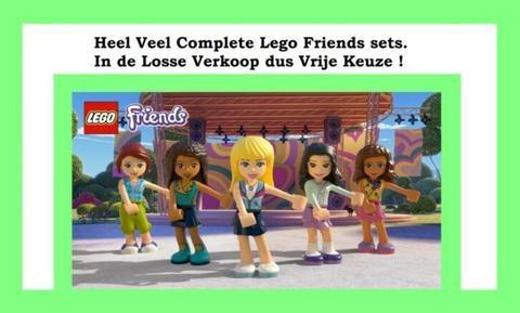 Heel Veel Complete Lego Friends Sets in de Losse verkoop
