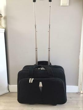 Laptop trolley koffer Delsey