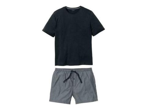 Korte heren pyjama XL (56/58), Donkerblauw