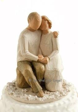 Willow Tree Cake Topper Anniversary (Willow Tree huwelijk)