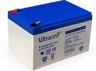 12V, 12 Ah Loodaccu UltraCell UL12-12