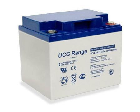 12V, 45 Ah Gel accu UltraCell UCG45-12