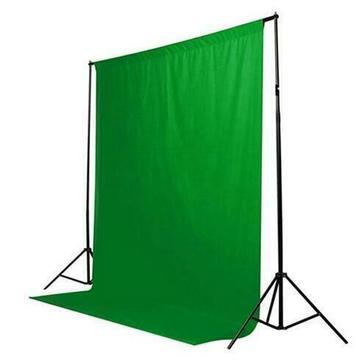Koop Groene Kleur Katoen Non-verontreinigende Textiel